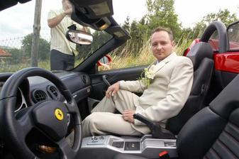 Ferrari překvápko pro manžílka :o)