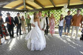 novomanželský tanec :o)