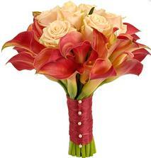 kytice_kala, růže