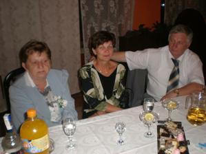 môjho drahého krstný  rodičia