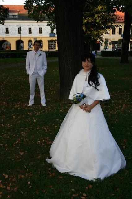 ponukam na predaj svadobne saty  - Obrázok č. 1