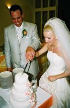 Krájanie torty.