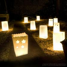candle bags...nadherne na dotvorenie atmosfery...