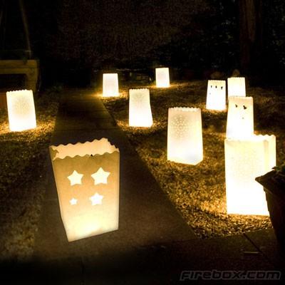 7.5.2011 - candle bags...nadherne na dotvorenie atmosfery...