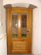 Nové vchodové dveře :-)