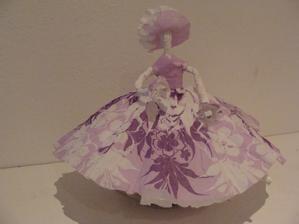 Papírová baletka inspirace od liliku z alba ;-)