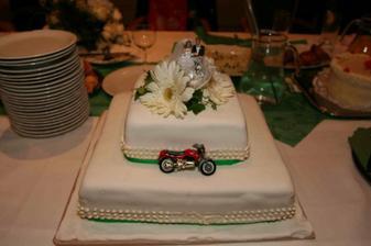 Nasa torta..motorka nemohla chybat:)
