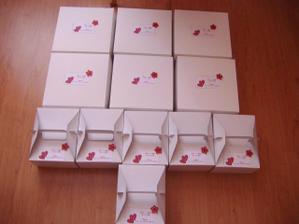 Naše krabičky na výslužky :-)