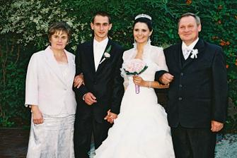 so ženíchovími rodičmi