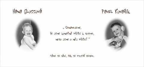 korektura svatebního oznámení