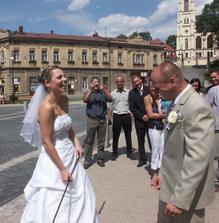 nevěsta vyhrála bič :-)
