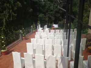 obrad bude na terase