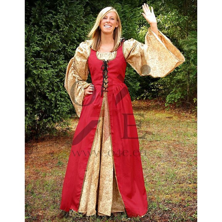 Šaty na redový - akurát spodné budú biele:)