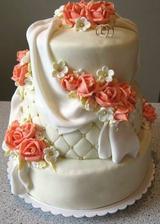 svadobná torta zajednaná:)