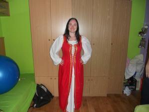 šaty na redový:)