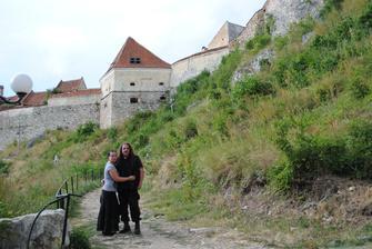 hrad Rasnov