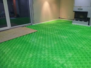 Zelená obývačka