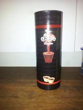 čokoládový likér a pohariky z keksov