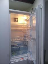 Chladnička zatiaľ prázdna