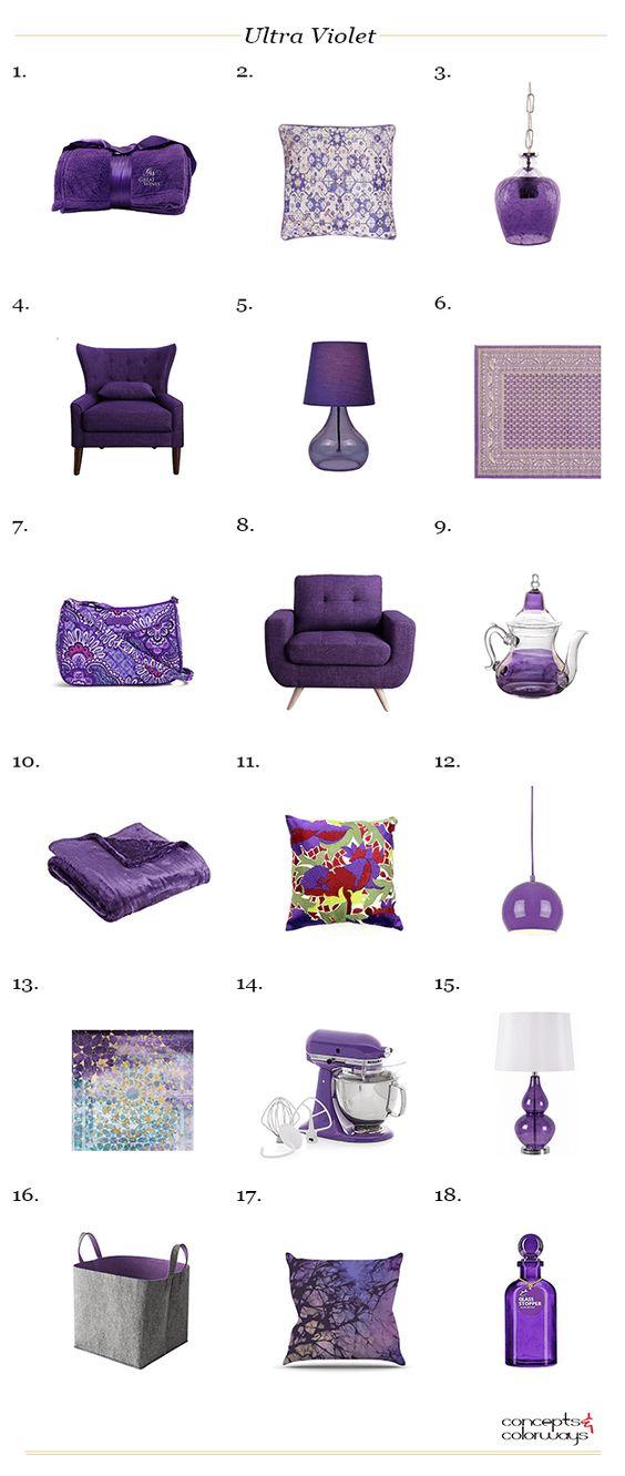 Color of the Year 2018 - Ultra Violet - Obrázok č. 15