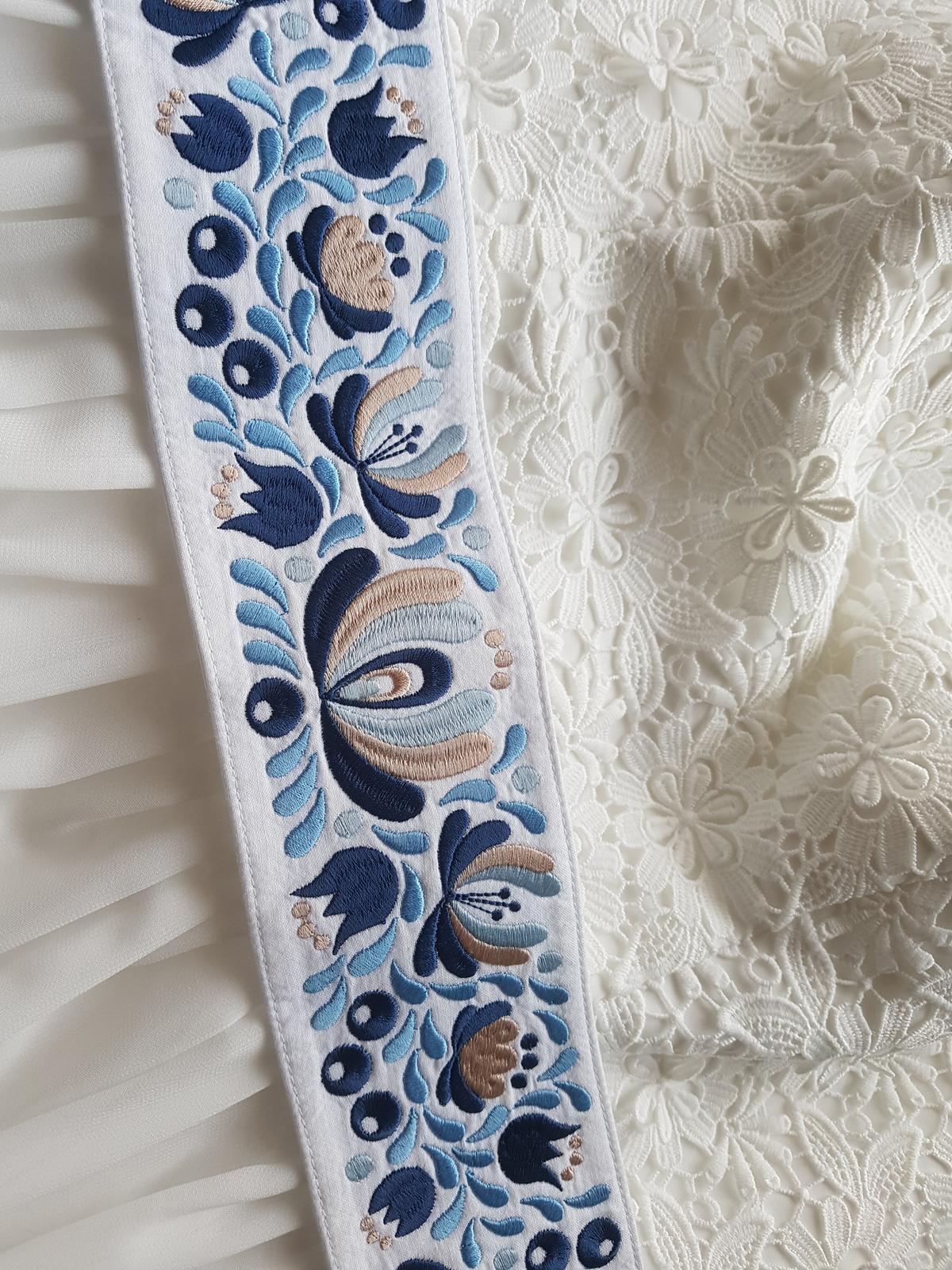 Opasok na svadobné šaty - Obrázok č. 1