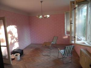 Obývačka- pôvodný stav