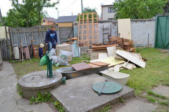recyklacia na dvore :-)