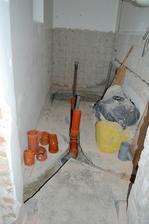 odpad miestnosť ešte spolu buduca komora a wc