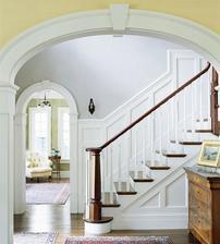 bielo hnedé schodisko a tá zastena do tej som sa zamilovala :-)