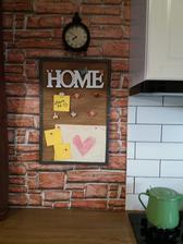 tabuľka dnes vyrobená synko ju hneď využil :-)