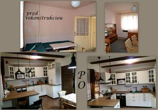pred rekonštrukciou to bola obývačka a po prerábke kuchyňa :-)