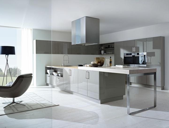 Moje představa o kuchyni - Mám ráda šedou...