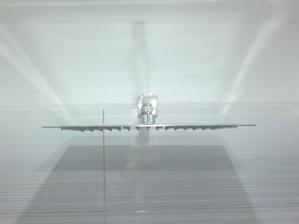 3.11.2013 - sprch. hlavice ultra slim square - tenoučká nerezová