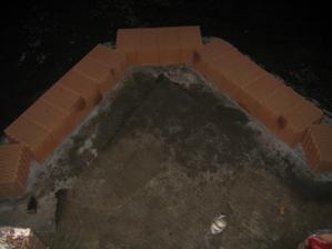 Založení 1. patra - 10.11.2009