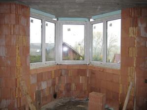 Okna ve výklenku zevnitř - 29.10.2011