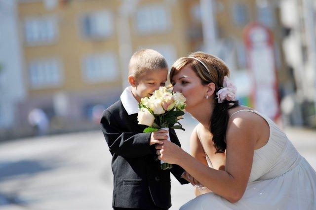 Darina Víznerová{{_AND_}}Karol Urbanovič - mama nevesta s našim Karolkom