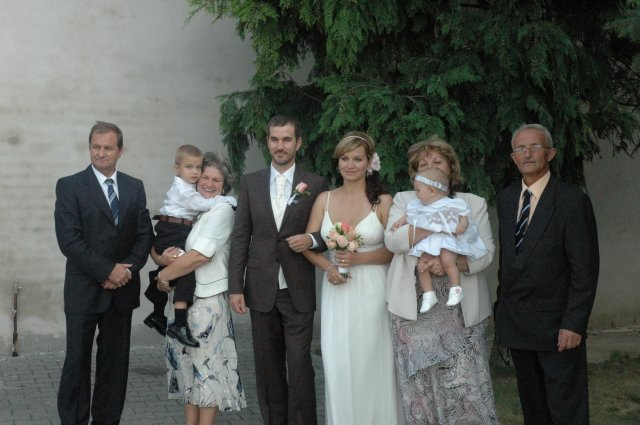 Darina Víznerová{{_AND_}}Karol Urbanovič - s rodičmi