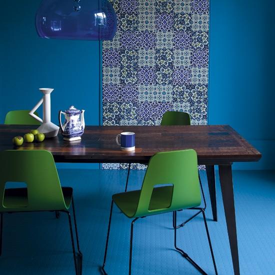 Modrá, kam sa pozrieš - stále decentne a vkusne - Obrázok č. 80