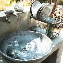 a jaký mají i vkusný odkapávač na nádobí ...