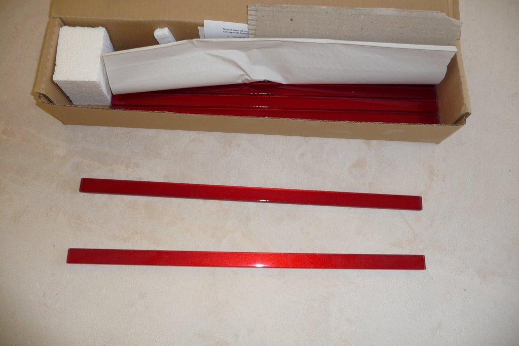 Skleněná listela 2x45 cm - Obrázek č. 1