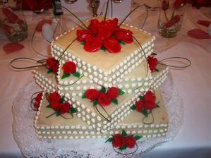 náš dort - byl moc dobrý