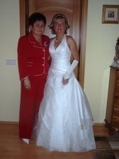 s maminkou - čeká se na ženicha