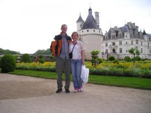 nejoblíbenější zámeček na Loiře - Chenonceau