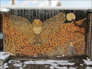 Jak se dá také rovnat dřevo.