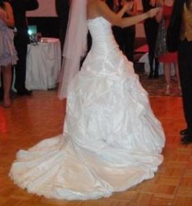 Svadobné šaty - šité podľa Sabelle - Sottero, 40 - Obrázok č. 4