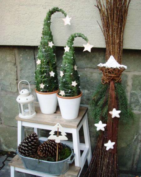 Vánoční čas - Letos si vyrobím tyhle srandovní stromečky