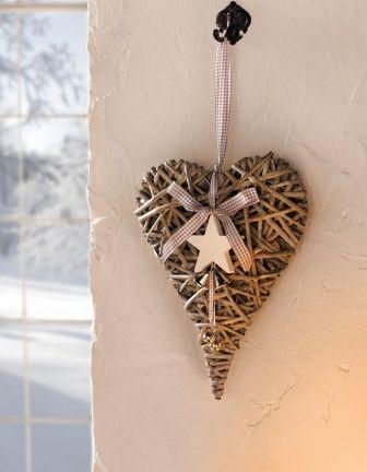 Vánoční čas - současná srdíčka vylepším hvězdičkou a hned se budou tvářit vánočně