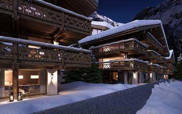 A jiná chatička Bergwelt, Švýcarsko