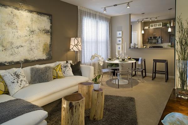 Obýváček - opět moje barvičky....