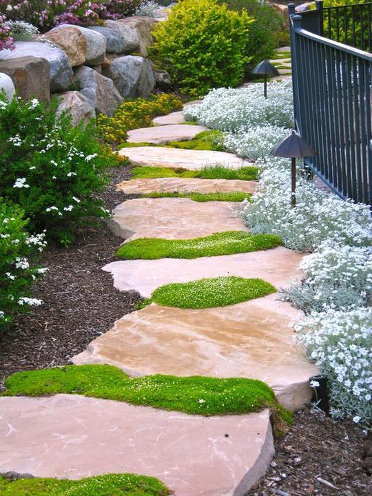 Zahrada, v hlavní roli kámen/ aneb jsem šutrofilka - Obrázek č. 35